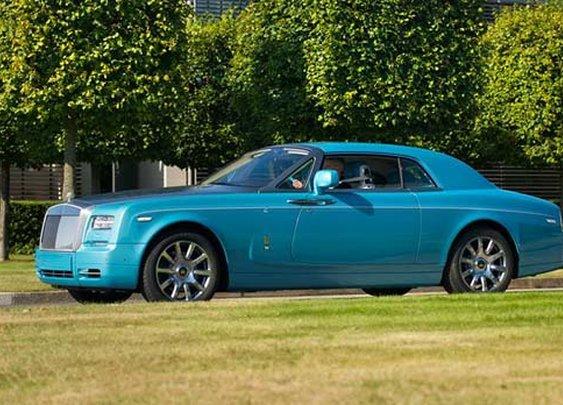Rolls Royce Unveils Bespoke Ghawwass Phantom Coupé