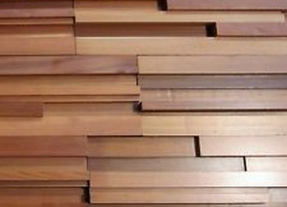 Unique Modernist Style Western RED Cedar Feature Wall Panelling  | eBay