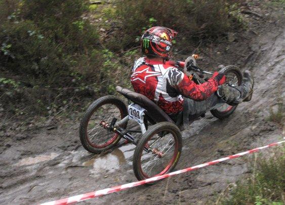 Chris Jones-adaptive trike DH racer | Dirt