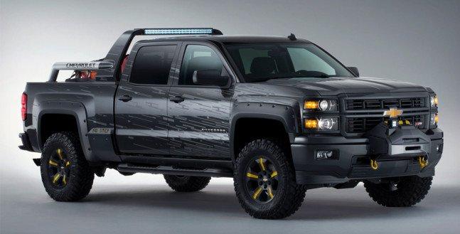 Chevrolet Silverado Black Ops Concept | Cool Material