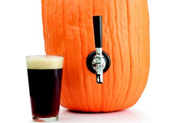 How to Make a Pumpkin Beer Keg