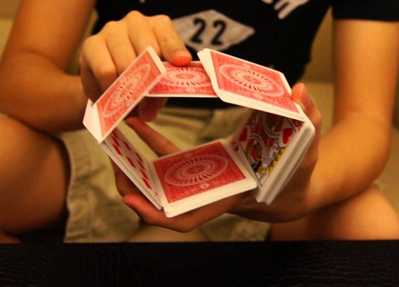 Close-up of Cardistry by Daniel Lin