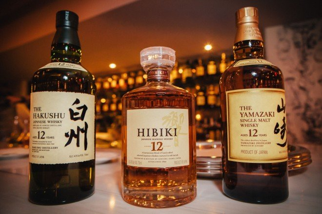 Suntory Whiskey | Mechanics of style