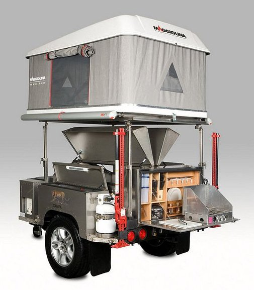 Campa All Terrain Trailer Brings Serious Amenities In A Compact Package