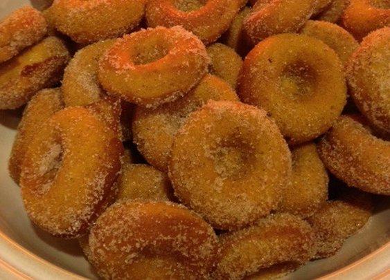 Pumpkin Pie Donuts   Chasing Supermom