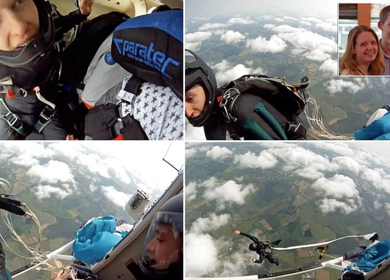Nerves of Steele: Skydiver Cuts Away Primary Chute