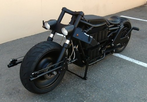 One-of-a-kind electric Batpod could be yours