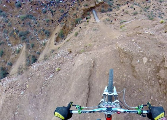 GoPro: Backflip Over 72ft Canyon - Kelly McGarry Red Bull Rampage 2013 - YouTube