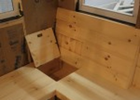Built-In Bench with Secret Storage | StashVault