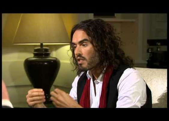 Digg Videos: Someone let Russell Brand on TV again.