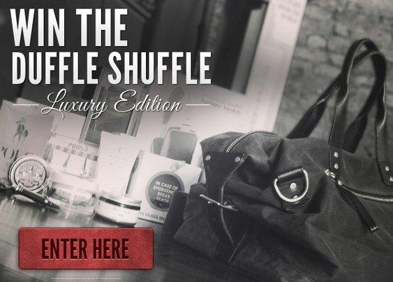 Duffle Shuffle Luxury Edition Sweepstakes