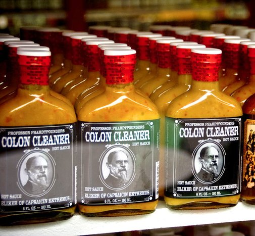Gifts for Men - Colon Cleaner Hot Sauce