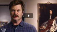 Nick Offerman's Great MO-ments in Moustache History | Mademan.com