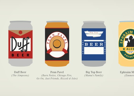 Fantastical Fictive Beers | The Coolector