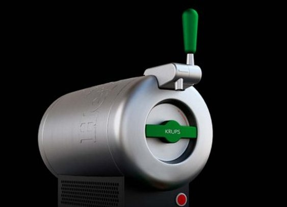 Heineken Sub delivers super-chilled lager to the home market