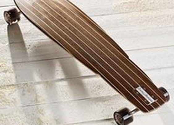Fancy - Classic Surfer Walnut Longboard by Tommy Bahama