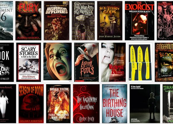 The Friday 5: Favorite Books (Horror Edition) : 101 or Less