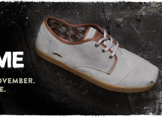 Movember - Limited Edition - Help Change the Face of Men's Health | TOMS.com