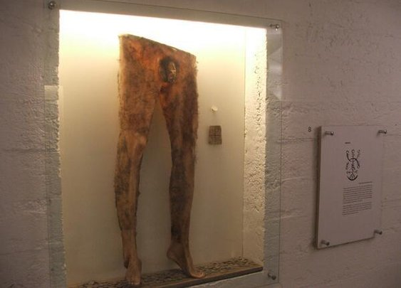 'Necropants' Made From Dead Human Skin On Display In Iceland Museum [NSFW PHOTO]