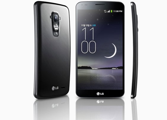 LG G flex self-healing curved smartphone