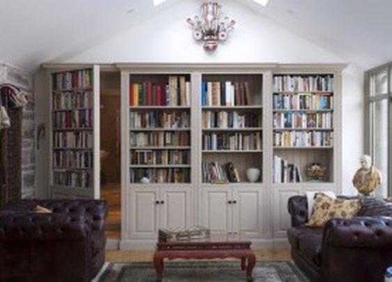 Faux Bookcase Secret Passage Door | StashVault