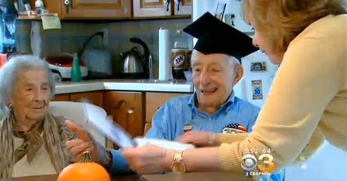 105-Year-Old Man Finally Receives High School Diploma After 89 Years [VIDEO]