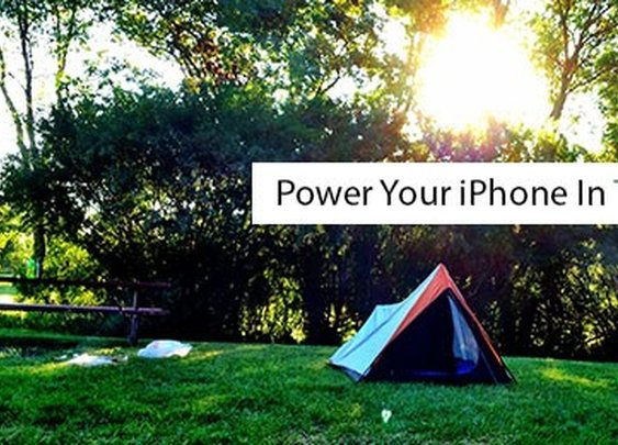 Tapp It Up   » Power Your iPhone In The Great Outdoors