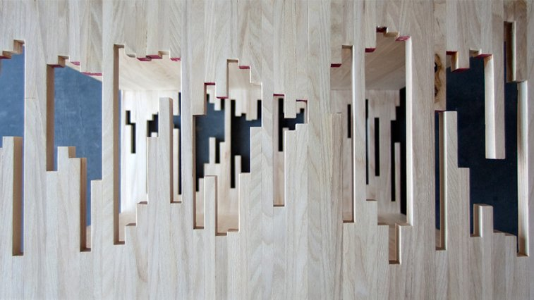 Knife & Saw / Scrap Wood Table