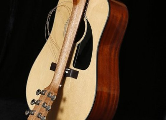 Fender outs folding neck travel acoustics