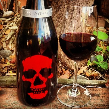A spooky good wine for Halloween.