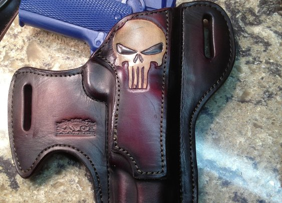 Punisher Holster from Savoy Leather