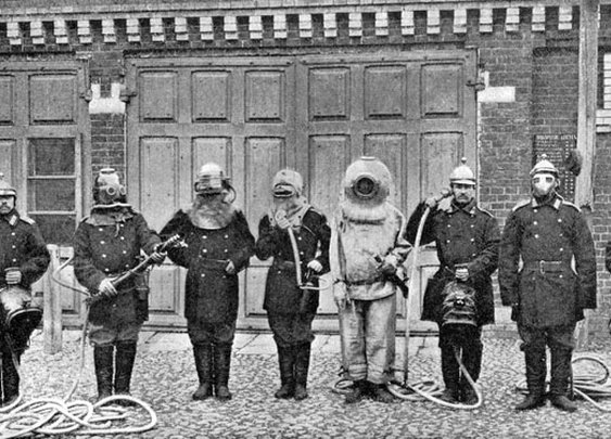 Moscow Firefighters circa 1913
