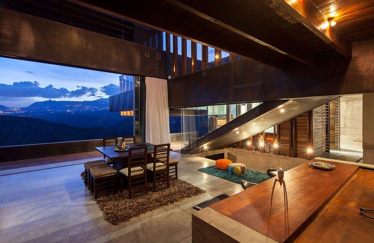 Contemporary home in Ecuador