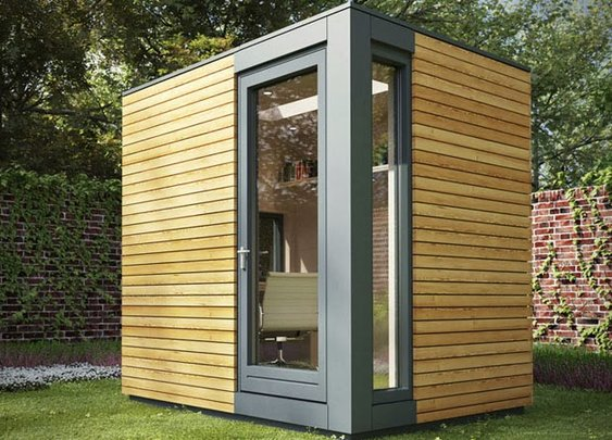 Pod Outdoor Office: an introvert's dream