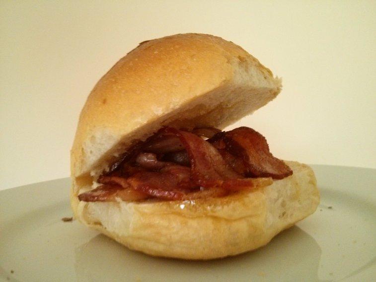 The Worlds Best Bacon Sandwich