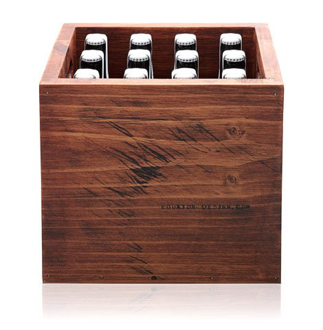 Wooden Beer Case