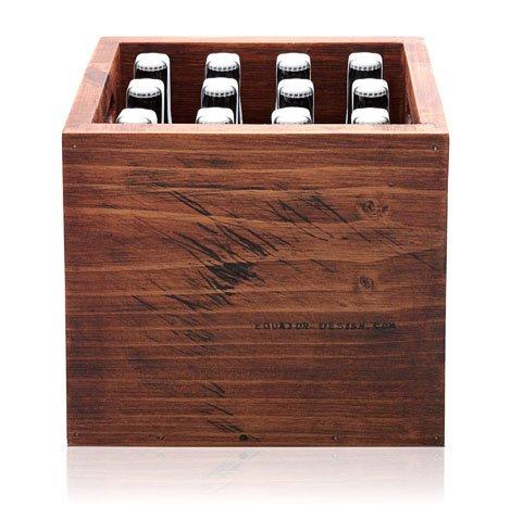 Wooden Beer Case