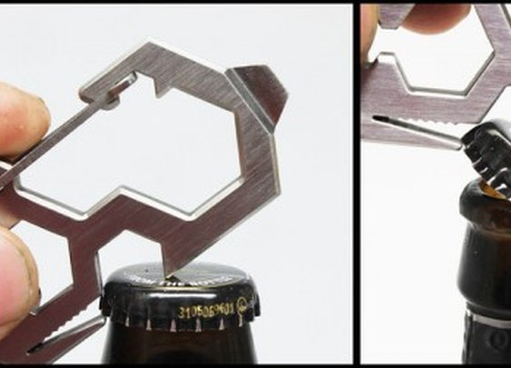 Unique Bottle Opener & Multi-Tool