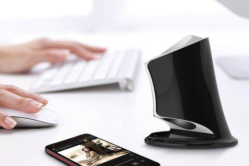 Syren NFC-Enabled Bluetooth Portable Speaker   Bonjourlife