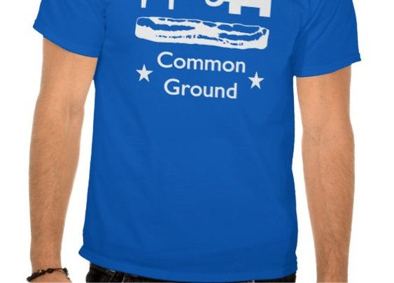 Bacon is Common Ground T-shirt