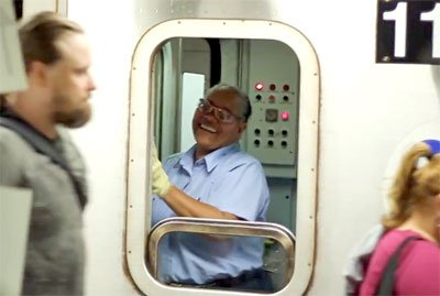 Here's An Inventive Way To Put A Smile On A Train Conductor's Face