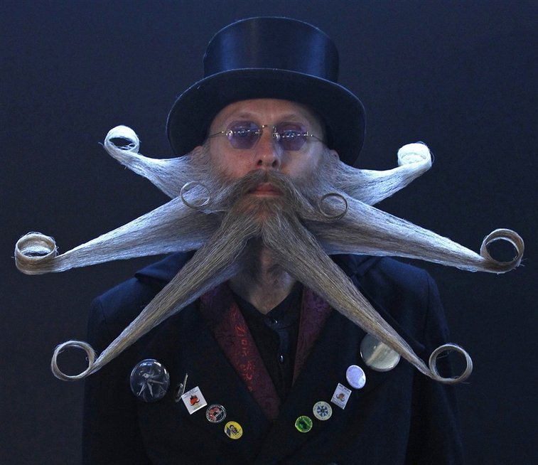Beard contest shows off styles of the hirsute - PhotoBlog