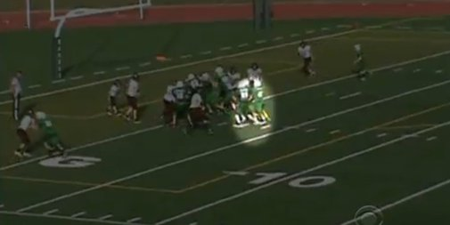 Middle School Football Players Create Secret Play For Teammate With Disabilities