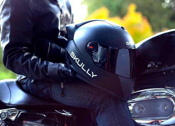 Skully P1 Heads Up Display Motorcycle Helmet | GearMoose - Stuff For Guys