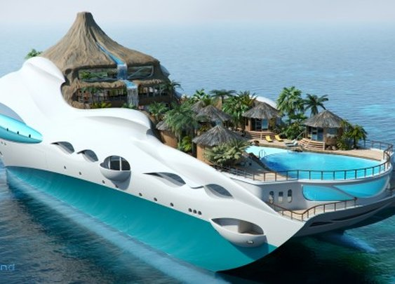 Tropical Island Paradise Yacht | GearMoose - Stuff For Guys