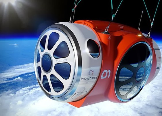 WORLD VIEW OUTER SPACE BALLOON CAPSULE RIDE