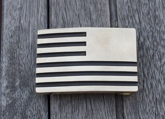 GORUCK | Built in the USA. Brass Reverse Flag Belt Buckle