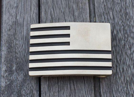 GORUCK | Built in the USA. Brass Reverse Flag Belt Buckle