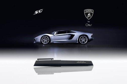 A Fountain Pen for Lamborghini's 50th Anniversary | Baxtton