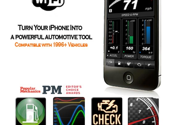 PLX Kiwi 2 Wifi | OBD2 OBDII iPhone
